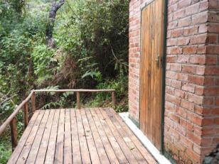 Sauna deck